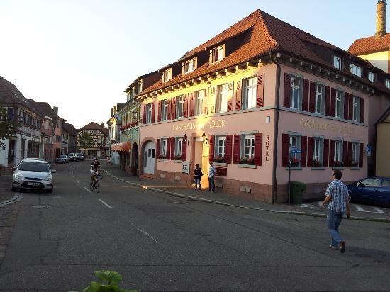 Probably the best Angus filet dinner in Bade-Wurtemberg, Germany GASTHOF zum ADLER  Friedrichstraße 44 (Ettenheim)