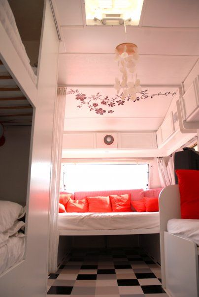 Refurbished / Renovated Camper, Not Decor But Sleeping Space Looks Good.