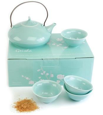 "I'll call this ""Tiffany's Japanese Tea Set"""
