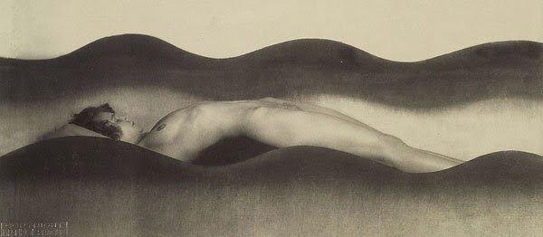František Drtikol, The Wave, 1925, Czech