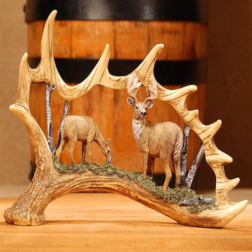 awesome antler carving