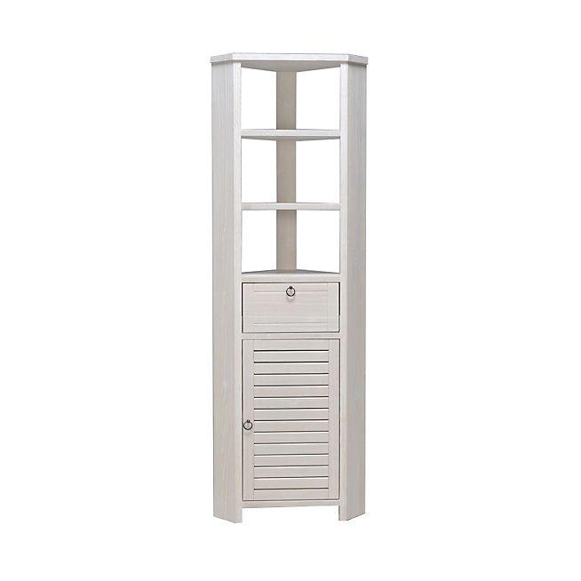 louisa bain colonne d 39 angle de salle de bains en pic a massif 200cm sdb pinterest meuble. Black Bedroom Furniture Sets. Home Design Ideas
