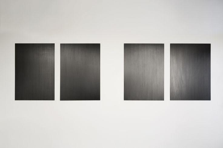 Santiago Reyes Villaveces | Panel | 2012 | panel, graphite, paper | 100x70 cm | Diptych 1/3+AP