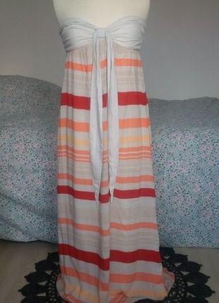 À vendre sur #vintedfrance ! http://www.vinted.fr/mode-femmes/robes-longues/24081592-robe-longue-orange-rouge-stradivarius