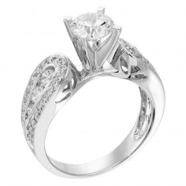 Ingrid Diamond Wedding Ring - Diamond Nexus