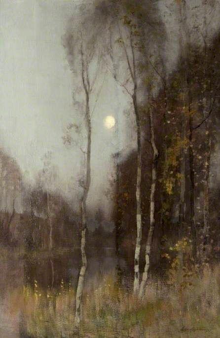 Moonrise (c. 1892-1900) - Robert Macaulay Stevenson. http://www.annabelchaffer.com/categories/Ladies/