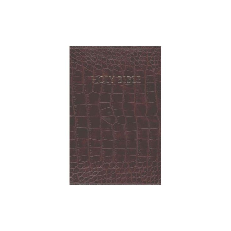 Holy bible king james version study bible leather bound