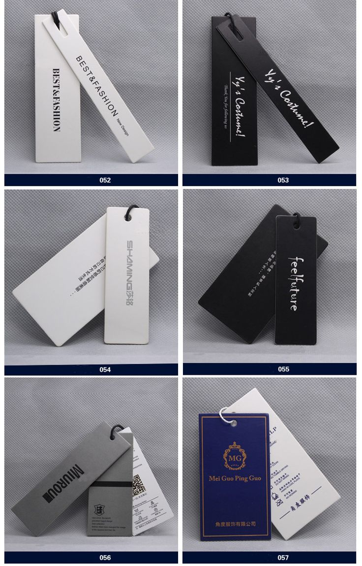 clothing tag design examples - Google Search