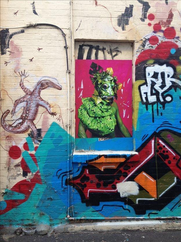 Lizards - Gertrude Street, Fitzroy