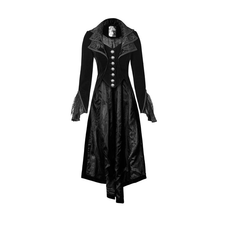 Find More Basic Jackets Information about 2016 New Punk Rave Fashion Black gothic jacket Rock cosplay Kera Steampunk women Coat y65,High Quality fashion women coat,China women coat Suppliers, Cheap woman coat fashion from Punk Rave Store  on Aliexpress.com