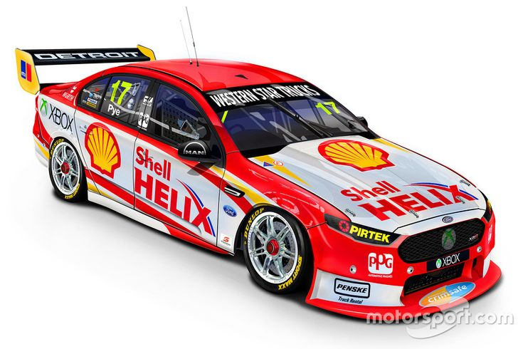 Updated livery for the DJR Team Penske Ford of Scott Pye