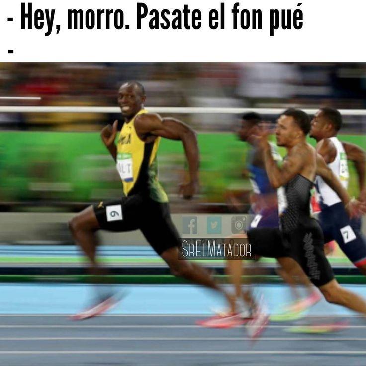 Así cualquiera quién dijo que no se puede romper el récord.  -  -  #Bolt #atletismo #JuegosOlimpicos #Rio #Rio2016 #correr #run #RunnersSV #olympics2016 #Brayan #ElBrayan #telefono #iphone #samsung #SrElMatador #ElSalvador #SV #SoloEnElSalvador
