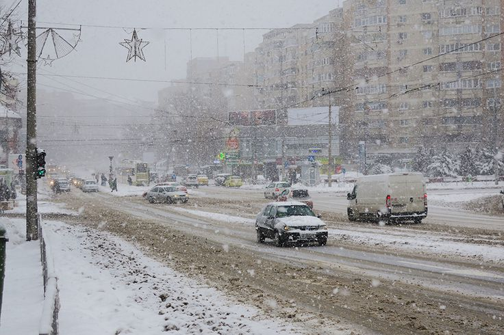 First real Snow in Bucharest | Chique Romania