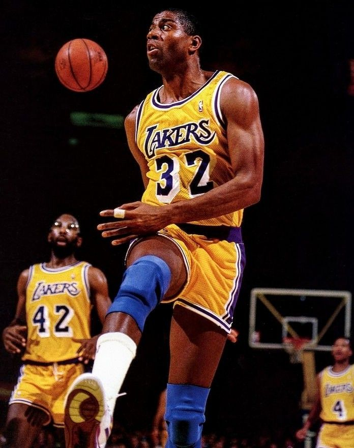 And Another One Magic Bigrobc In 2020 Nba Legends Sports Basketball Showtime Lakers