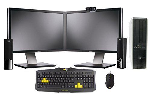 "Home Office Gaming PC Dual 19"" Multi Monitors - 1TB 1000GB Storage - 8GB RAM - Dual Core Processor - Dedicated Nvidia GT730 Graphics Card HDMI - Keyboard Mouse Speakers & Webcam - Multimedia & Gaming Desktop Computer - http://www.computerlaptoprepairsyork.co.uk/desktop-computers/home-office-gaming-pc-dual-19-multi-monitors-1tb-1000gb-storage-8gb-ram-dual-core-processor-dedicated-nvidia-gt730-graphics-card-hdmi-keyboard-mouse-speakers-webcam-multimedia-amp"