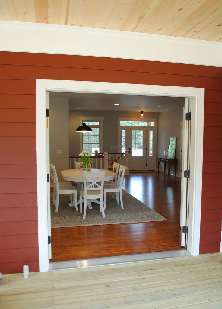 10 best exteriors images on pinterest exterior barn and for Indoor outdoor french doors