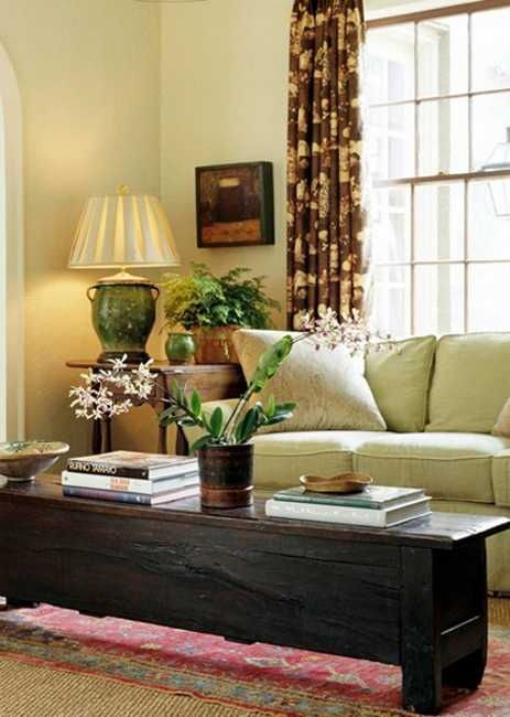 living room decorating with house plants Indoor