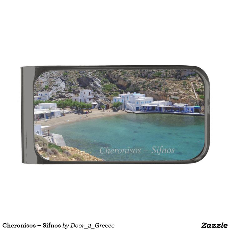 Cheronisos – Sifnos Gunmetal Finish Money Clip