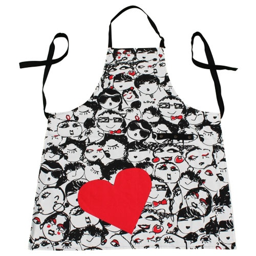HECHA Desenli Önlük Love Face http://www.deandeluca.com.tr/tr/products/main/detail/hecha-desenli-nlk-br-love-face #gurme #food #kanyon #deandeluca #love #aksesuar #accessories www.twitter.com/DeanDelucaTr  www.facebook.com/DeanDelucaTR
