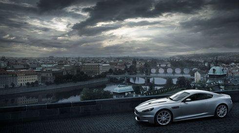 Aston Martin DBS at Letna Park, Prague - Photography by René Staud