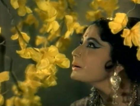 Meena Kumari stars as an enchanting courtesan in Chitralekha (1964)