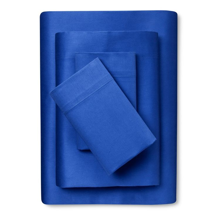 100 cotton sheet set twintwin extra long blue room essentials