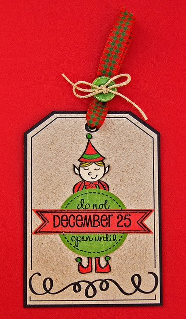 Neat + Tangled Holiday Tag by stripey fish (Jean M), via Flickr