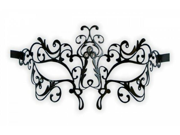 Masquerade Masks Template Lace Filigree masquerade masks