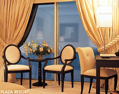 curtains,hotel PLAZZA RESORT ANABYSOS greece