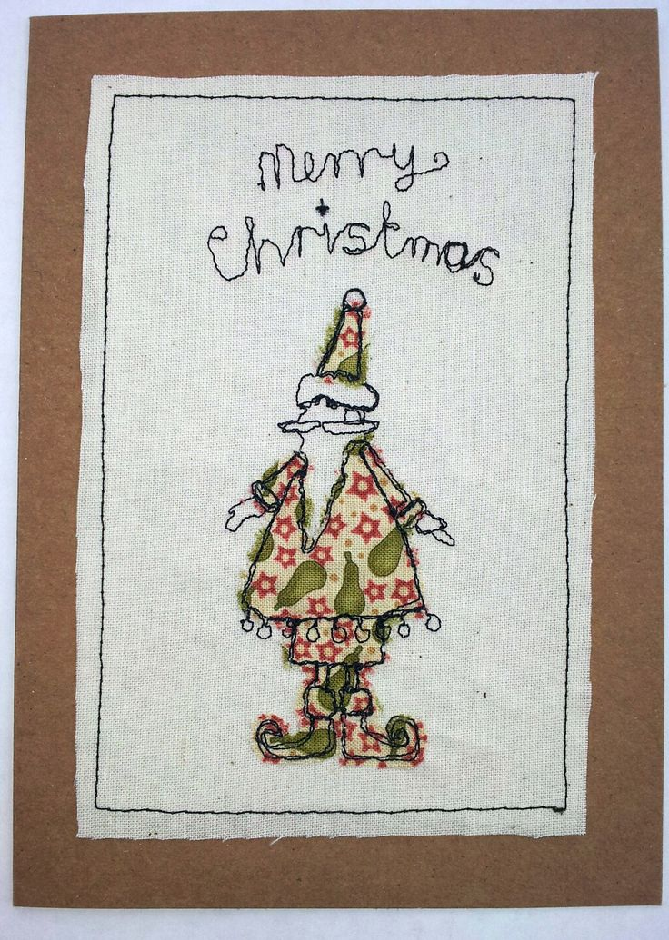 A very merry xmas card..it'll be going on etsy soon