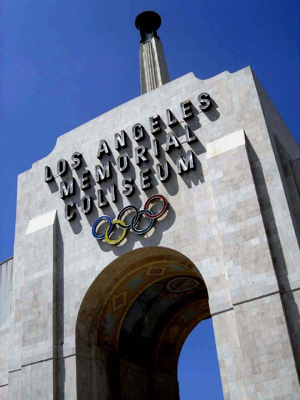 Los Angeles Memorial Coliseum hosted the Olympic Games in 1932 and 1984
