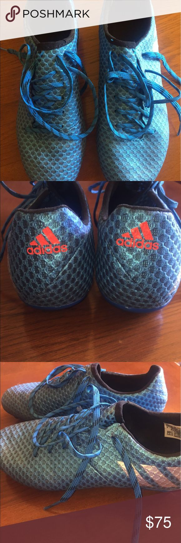 MESSI 2016 cleats! Men's size 5 or women's size 5 worn only a few times in nearly perfect condition!! adidas Shoes Athletic Shoes