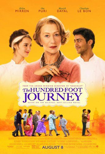 Helen Mirren, Manish Dayal, and Charlotte Le Bon in The Hundred-Foot Journey (2014)