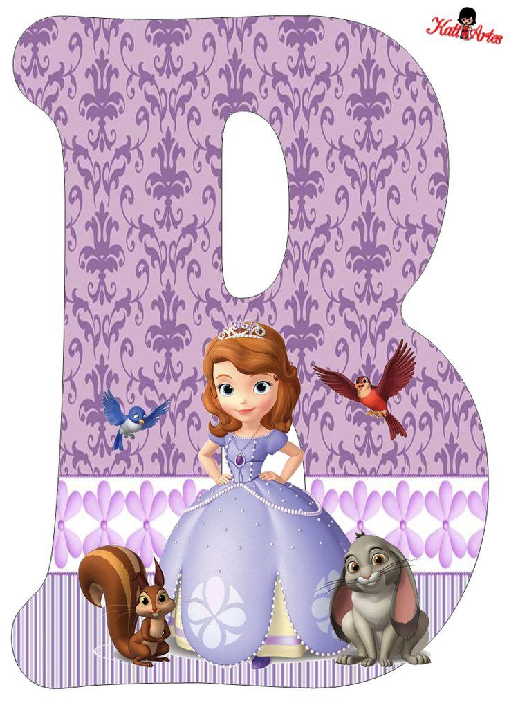 Alfabeto de Princesa Sofía. | Oh my Alfabetos!