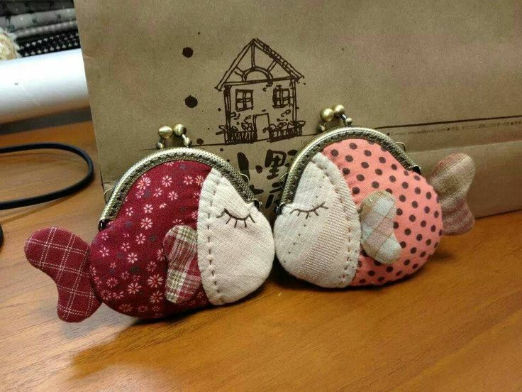 Cute fish coin purse ♡