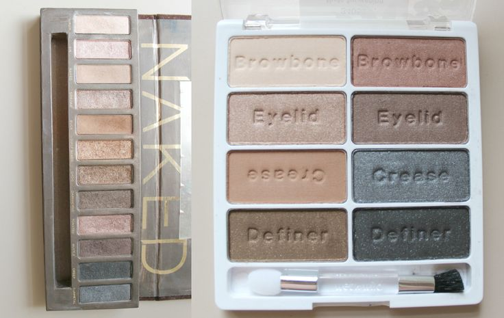 "Dupe of the Day! Wet N Wild ""Nude Awakening"" for Urban Decay ""Naked"" Palette 