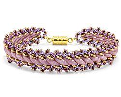 Russian Crescents Bracelet Pattern for CzechMates