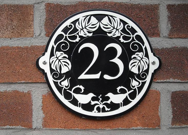 Best 25+ House number plates ideas on Pinterest   Home alone house ...