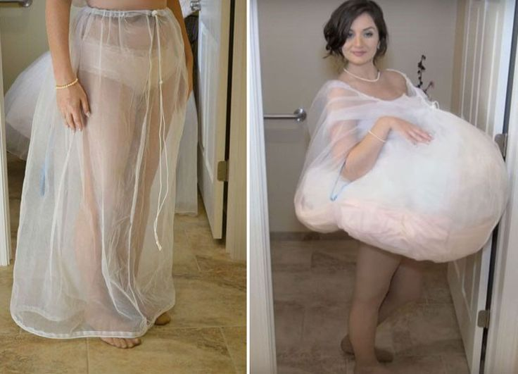 Bridal Buddy is a functional skirt to be worn under your wedding dress so you can pee on your big day
