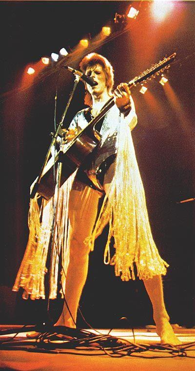 Ziggy Stardust halloween costume - Oct 2012