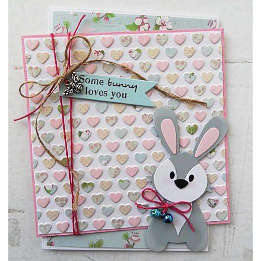Marianne Design Embossing Folder & Cutting Die - Hearts DF3413 < Craft Shop   Cuddly Buddly Crafts