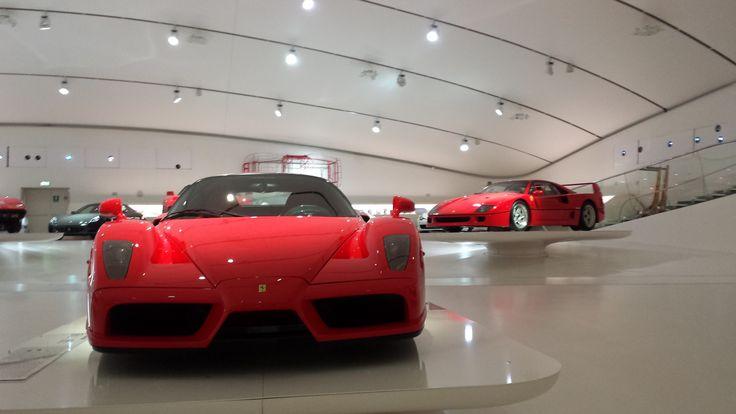 Ferrari Enzo/Ferrari F40 -Museo Enzo Ferrari Modena