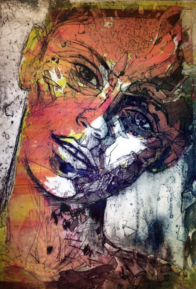 Collagraph - Deconstructing self by JetJames.deviantart.com on @DeviantArt