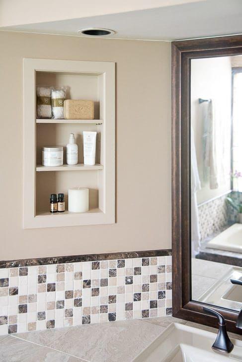diy bathroom renovation reveal for the home bathroom rh pinterest com