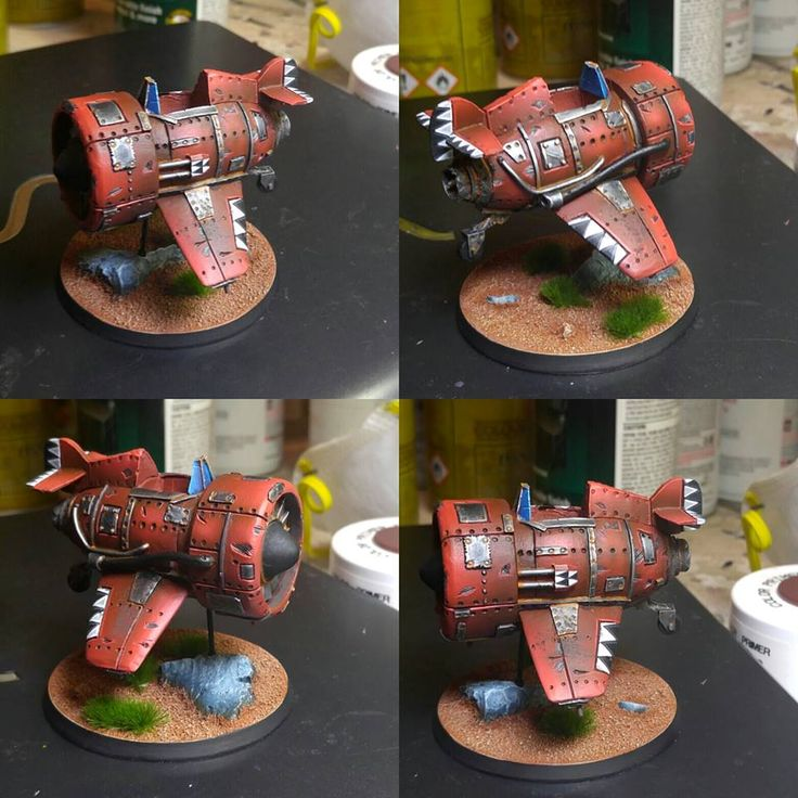 Kenny from Next Level Painting is painting our Orc Da Plane.  http://puppetswar.com/product.php?id_product=77