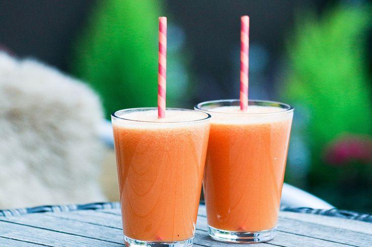 Омолаживающий и укрепляющий микс из яблок, моркови, лимона и имбиря