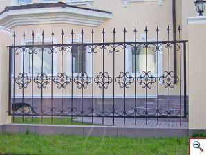 Кованый забор Художественная ковка Екатеринбург