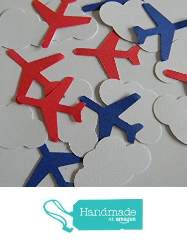 100 red and blue airplane and Cloud Confetti die cuts party decor scrapbooking table confetti from Crafts4u https://www.amazon.com/dp/B0763DNLZQ/ref=hnd_sw_r_pi_dp_Sfx0zbGF0S6ZN #handmadeatamazon