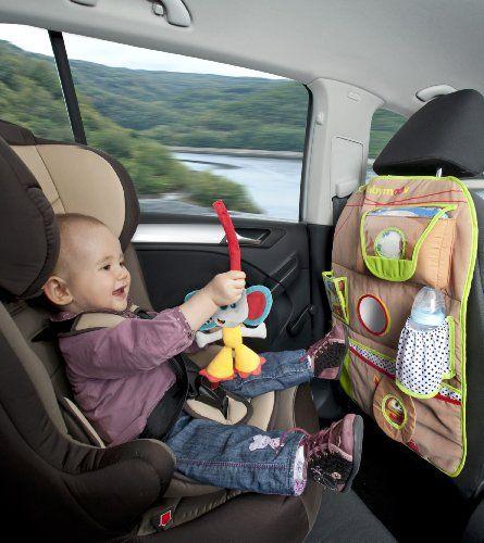 Babymoov - Organizador con bolsillo para coche con león y elefante (0-24 meses), color marrón Ver más http://bebe.deskuentos.es/comprar/accesorios-sillas-de-coche-y-accesorios/babymoov-organizador-con-bolsillo-para-coche-con-leon-y-elefante-0-24-meses-color-marron/