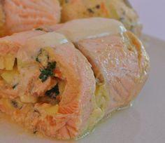 paupiettes de saumon aux légumes #léger #light